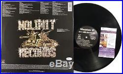 MASTER P signed VINYL RECORD 12 LP ICE CREAM MAN Rap Rapper Album No Limit JSA