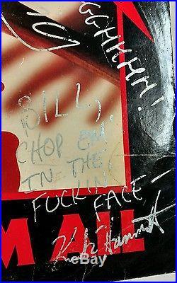 METALLICA SIGNED KILL'EM ALL VINYL ALBUM LP Kirk HAMMER CLIFF BURTON Lars James