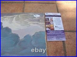 MICK JONES and LOU GRAMM SIGNED FOREIGNER LP ALBUM VINYL JSA COA