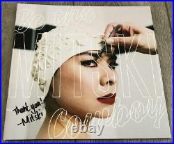 MITSKI MIYAWAKI SIGNED AUTOGRAPH BE THE COWBOY RECORD VINYL ALBUM withEXACT PROOF