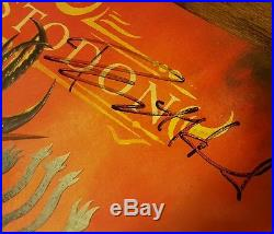 Mastodon Signed Lp & Ticket & Poster Emperor Of Sand Vinyl Album Release Party