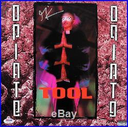 Maynard James Keenan Tool Signed Opiate Album Cover With Vinyl PSA/DNA #AC17052