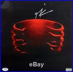 Maynard James Keenan Tool Signed Undertow Album Cover With Vinyl PSA/DNA #AC17051
