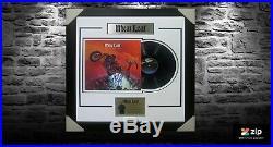 Meat Loaf Signed & Framed Bat Out Of Hell Vinyl Album Psa Dna #aa54161 Meatloaf