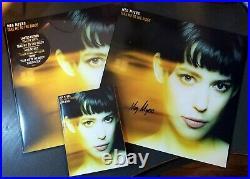 Meg Myers -Take Me to the Disco with Lyric Book Signed Yellow Vinyl Ltd Ed