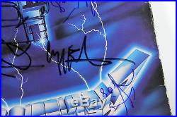 Metallica (4) Band Signed Ride The Lightning Album Cover With Vinyl BAS #A10246