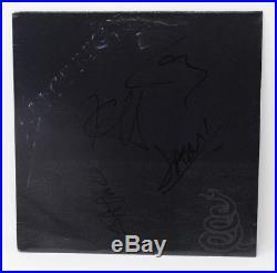 Metallica SIGNED Black Album 12 Vinyl Record Elektra 61113