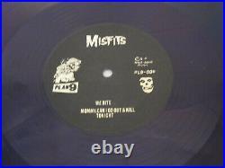 Misfits Die Die My Darling Purple Vinyl Record EP Album USA 1984 Danzig Signed