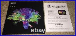 Muse Full Band Signed The 2nd Law Album Vinyl Matt Bellamy +2 Bas Rare