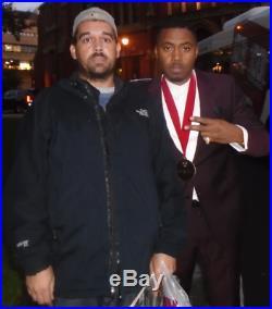 Nas Rap God Ny Qb Icon Legend Signed Autograph Illmatic Album Record Vinyl Rare