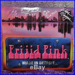 New Frijid Pink Band Album Vinyl Record Made in Detroit Signed Autographed 2014