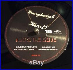 Niki & the Dove Everybody's Heart is Broken Now SIGNED Vinyl 2x LP MINT Album