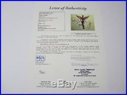 Nirvana Kurt Cobain In Utero signed autographed vinyl record album JSA COA