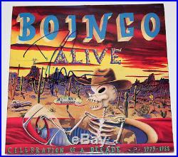 OINGO BOINGO SINGER DANNY ELFMAN SIGNED AUTHENTIC VINYL RECORD ALBUM LP withCOA