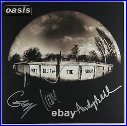 Oasis JSA Epperson Signed Autograph Album Record Vinyl REAL Liam Noel Andy Gem