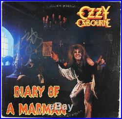 Ozzy Osbourne JSA Signed Autograph Record Album Vinyl Diary Of A Madman