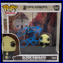 Ozzy Osbourne Signed Funko Pop Album Figure Vinyl Black Sabbath Auto Beckett Coa