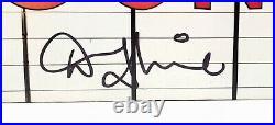 PAUL McCARTNEY Beatles & Denny Laine Signed Auto WINGS Album with Vinyl PSA/DNA