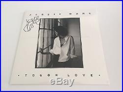 PERSONALLY SIGNED/AUTOGRAPHED JESSIE WARE TOUGH LOVE DOUBLE VINYL LP ALBUM