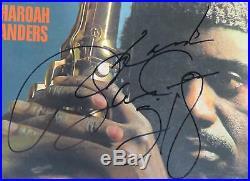 PHAROAH SANDERS Signed Autograph Tauhid Album Vinyl Record LP JAZZ Coltrane