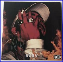 POST MALONE SIGNED August 26th Mixtape VINYL ALBUM JSA COA #EE88550 Rare Import