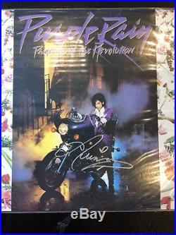 PRINCE & THE REVOLUTION-Autographed PURPLE RAIN Album-Warner Bros. Withvinyl