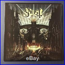 Papa Emeritus Tobias Forge Ghost Bc Band Signed Album Vinyl Record Lp Autograph