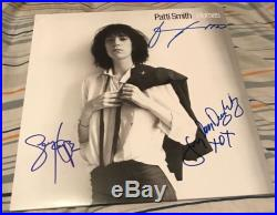 Patti Smith Signed Autographed Horses Vinyl Album Record Lp With Exact Proof