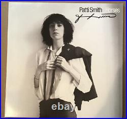 Patti Smith Signed LP Album Vinyl Horses Record