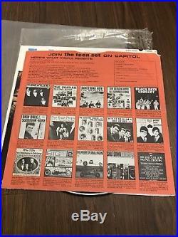 Paul McCartney autographed Beatles Album Cover With Vinyl! PROOF! COA