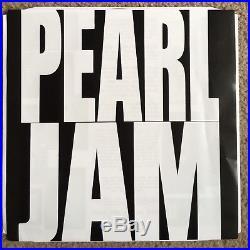 Pearl Jam Mike Mccready Signed Ten Vinyl Album Record Guitarist Autographed