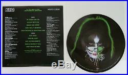 Peter Criss KISS Signed Autograph KISS Peter Criss S/T Album Vinyl LP Solo 78