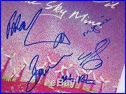 Peter Garrett MIDNIGHT OIL Signed Autograph Blue Sky Mine Album Vinyl LP by 5