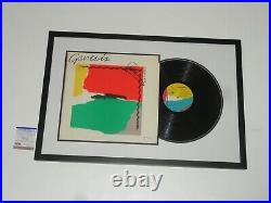 Phil Collins Signed Framed Abacab Vinyl Album Genesis Autographed Psa Coa