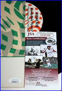 Phil Collins Signed Genesis Invisible Touch Lp Vinyl Record Album Auto Jsa Coa