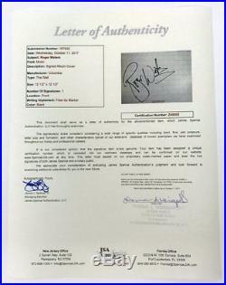 Pink Floyd Roger Waters Autographed The Wall Vinyl Album JSA LOA