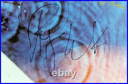 Pink Floyd Roger Waters & David Gilmour Signed Meddle Album Cover With Vinyl BAS
