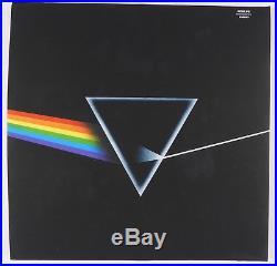 Pink Floyd Roger Waters Nick Mason Dark Side Signed Autograph Album JSA Vinyl