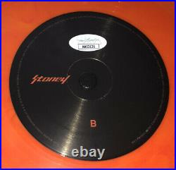 Post Malone Signed Stoney Vinyl Album Record Lp Framed Autograph Jsa Coa