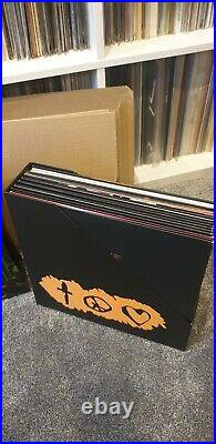 Prince Sign of the Times Deluxe Box of 11 vinyl LPs + Book