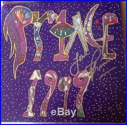 Prince Signed Autograph 1999 LP Album Vinyl