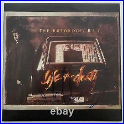 Puff Daddy Signed BIG Life After Death Vinyl Record Album Diddy Sean Combs RAD