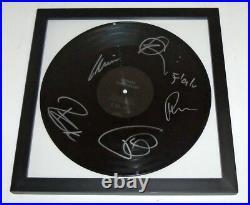 Pussy Rammlied RAMMSTEIN Signed Autographed Vinyl Album COA! PROOF! TILL, PAUL+