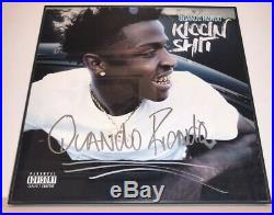 Quando Rondo Signed Vinyl Size Album Cover Poster Autograph Rapper Nba Youngboy