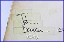 Queen (4) Mercury, Taylor, May & Deacon Signed Album Cover With Vinyl BAS #A70471