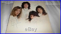 Queen II Signed Autographed LP Vinyl Album All 4 FREDDIE MERCURY