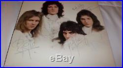 Queen II Signed Autographed LP Vinyl Album All 4 FREDDIE MERCURY BRIAN MAY JOHN