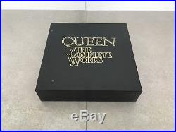 Queen The Complete Works UK fully autographed set complete 14 vinyl albums