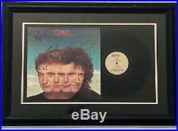 Queen The Miracle Vinyl Record Album Signed Circa 1989 Est $15K Apr Value