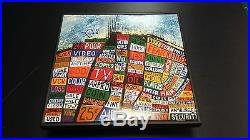RADIOHEAD Band Signed + Framed Hail to The Thief Vinyl Record Album